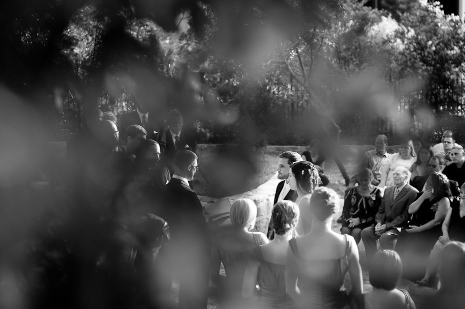 weddings austin black white wedding ceremony photo Austin Outdoor
