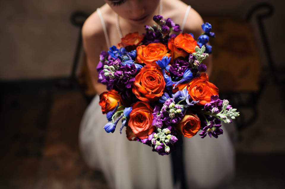 detail of flowergirl holding a bridesmaid bouquet. Black Bedroom Furniture Sets. Home Design Ideas