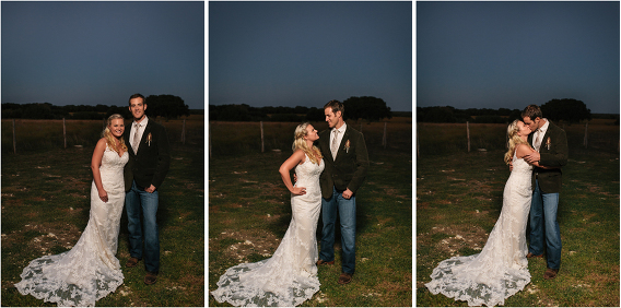 couple formal portraits at sunset